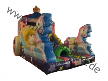 Rutsche Princess in 4m x 7m x 6m