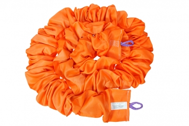 XL Elastic rope for Bungee-Rung 8m orange (up to 150kg)