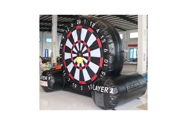 Mb Inflatable Aufblasbare Xxl Fussball Dartscheibe Mit 8